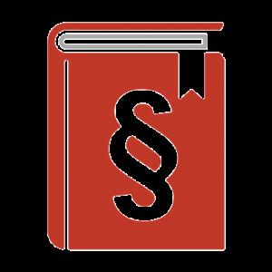 rotes Buch mit Paragraf