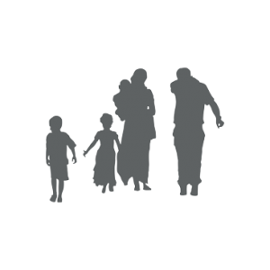 schemenhafte Familie